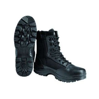 Берцы TACTICAL BOOT M.YKK ZIPPER SCHWARZ