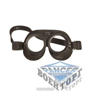 GERMAN GAS PROTECT. GOGGLES USED