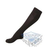 Носки высокие COOLMAX черные (63% Polyester (Coolmax), 35% Cotton, 2% Elastan)