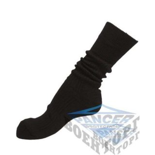 BLACK NATO 50/50 BOOT SOCKS (50% Wool, 50% Polyacryl )