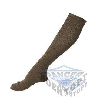 Носки олива с усиленной подошвой (95% Cotton, 5% Polyamide)