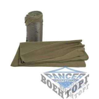 Одеяло флисовое олива
