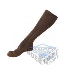 Носки высокие COOLMAX хаки (63% Polyester (Coolmax), 35% Cotton, 2% Elastan)