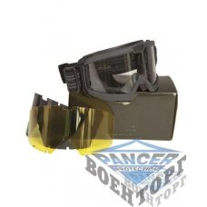 Очки защитные BLACK TACTICAL GOGGLES ANSI EN 166