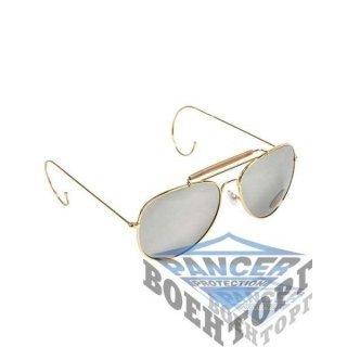 Очки солнцезащитные Air Force зеркальные с чехле