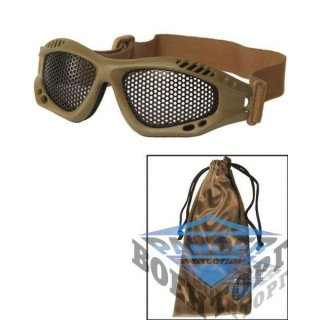 COYOTE TACTICAL GOGGLE WITH NET LENS