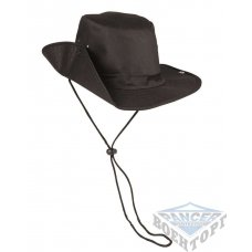 Панама BUSH HAT черная