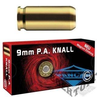 Патрон холостой пистолетный 9мм RUAG GECO KNALL (1207.01.25) 2317322