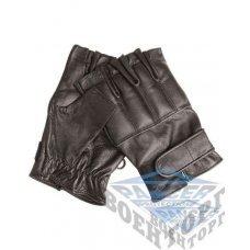Перчатки DEFENDER кож. беспалые с песком