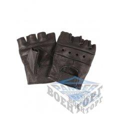 Перчатки беспалые BIKER FINGERLINGE LEDER