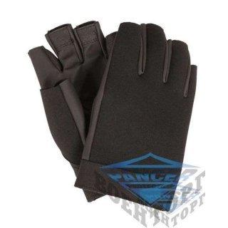 Перчатки неопреновые беспалые черные