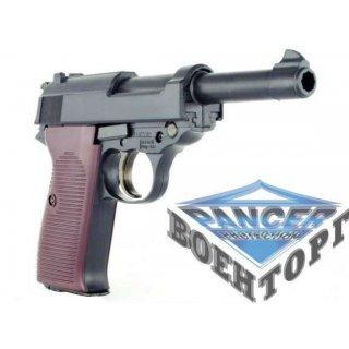 Пневматический пистолет Umarex   Walther P38 полностью металический с блоубэком к. 4,5мм ВВ, 120м\с