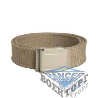 Пояс SAFETY BUCKLE хаки (100% Polyester, 4 см, пряжка сталь)