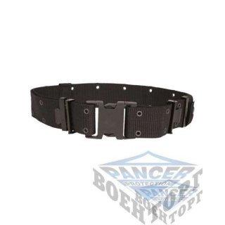 Пояс US LC2 PISTOL BELT черный (100% Polyester, 5,5 см, застежка пластик)
