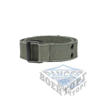 Пояс брючный CANVAS олива (100% Polyester, 4 см, пряжка сталь)
