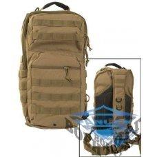 Рюкзак тактический на одну лямку койот