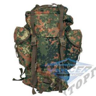 Рюкзак полевой армии Германии 65л. (62х15х64) камуфляж flectarn