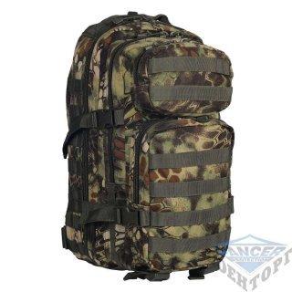 Рюкзак штурмовой малый 20л (42х20х25) камуфляж Kryptec WOOD