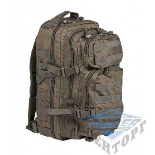 Рюкзак штурмовой малый 20л (42х20х25) олива