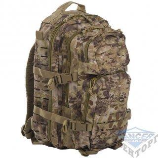 Рюкзак штурмовой малый LASER CUT 20л (42х20х25) камуфляж Kryptec TAN