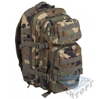 Рюкзак штурмовой малый 20л (42х20х25) камуфляж woodland