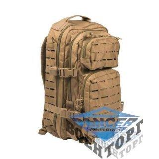 Рюкзак штурмовой малый LASER CUT 20л (42х20х25) хаки