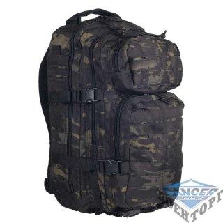 Рюкзак штурмовой малый LASER CUT 20л (42х20х25) камуфляж  мультикам черн.