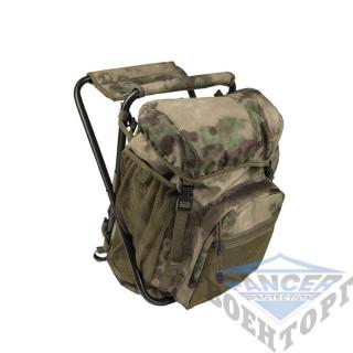Рюкзак-стул 20л (42х25х14) камуфляж A-TACS FG