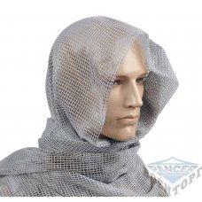 Сетка-шарф маскировочная белая 190х90 см (65% полиэстер/35% хлопок)