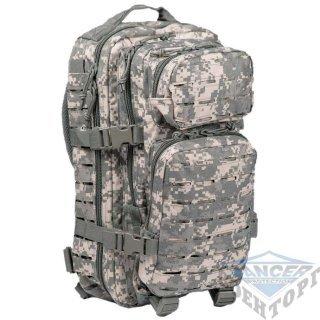 Рюкзак штурмовой малый LASER CUT 20л (42х20х25) камуфляж AT-digital (ACU)