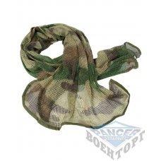 Сетка-шарф маскировочная камуфляж CCE 190х90 см (65% полиэстер/35% хлопок)