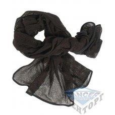 Сетка-шарф маскировочная черная 190х90 см (65% полиэстер/35% хлопок)