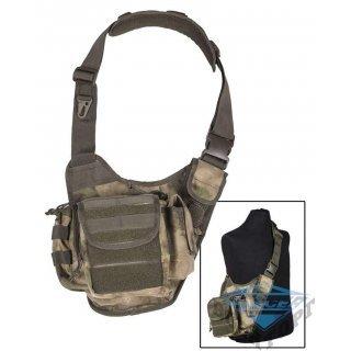 Сумка плечевая универсальная большая SLING BAG камуфляж A-TACS FG