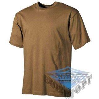 Тактическая футболка US coyote