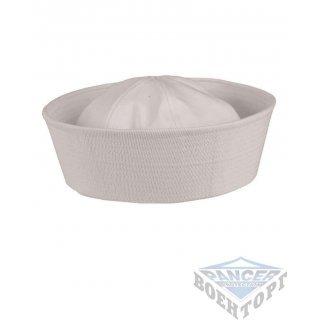 Форменная летняя шапочка ВМФ США белая (Navy Hat)