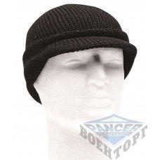 Шапка JEEP CAP черная (100% шерсть)