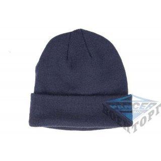 Шапка WATCH CAP синяя (100% Polyacrylic)