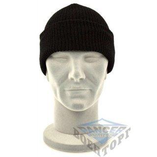 Шапка WATCH CAP черная (100% Polyacrylic)