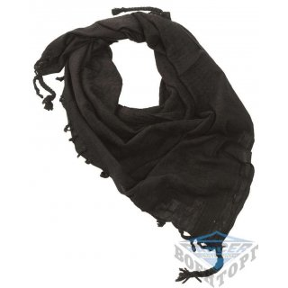 Шарф-шемаг арафатка черный хлопок (110х110 см)
