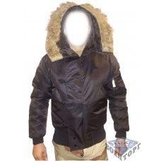 Куртка зимняя лётная N2B Аляска черная