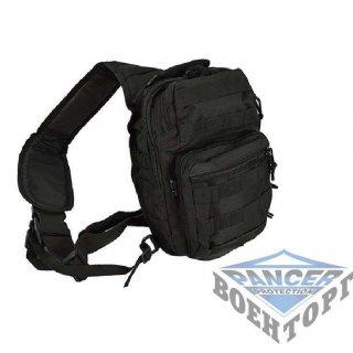 Рюкзак через плечо МИЛТЕК малый черный