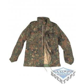 Куртка камуфляж US FELDJACKE M65 T/C M.FU.FLECKTARN