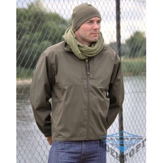 Куртка ветрозащитная нейлон WINDBREAKER олива