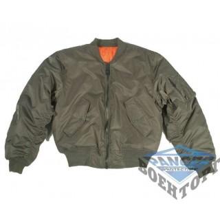 Куртка летная US MA1 FLIEGERJACKE TEESAR олива
