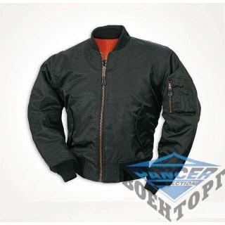 "Куртка летная US MA1&""""#174; FLIEGERJACKE TEESAR&""""#174; черная"