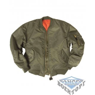 Куртка летная US FLIEGERJACKE MA1 BASIC олива