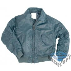 Куртка летная US CWU FLIEGERJACKE TEESAR темно-синяя