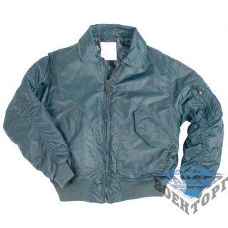 "Куртка летная US CWU FLIEGERJACKE TEESAR&""""#174; темно-синяя"