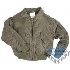 Куртка летная US CWU FLIEGERJACKE TEESAR олива