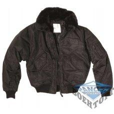 Куртка SWAT CWU-JACKE M.ABNEHMB.KRAGEN черная